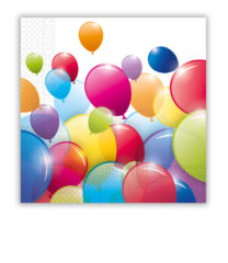 Flying Balloons - Two-ply Paper Napkins 33x33 cm - 80699