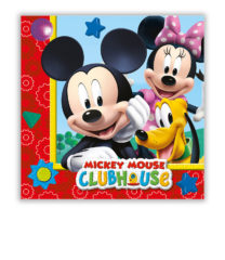 Playful Mickey - Two-Ply Paper Napkins 33x33 cm - 81510