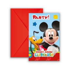Playful Mickey - Invitations & Envelopes - 81513