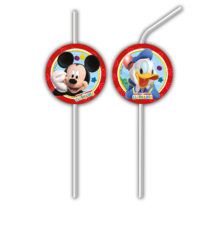 Playful Mickey - Medallion Flexi Drinking Straws - 81520