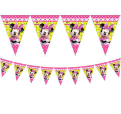 Minnie Happy Helpers - Triangle Flag Banner (9 Flags) - 81648