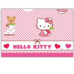 Hello Kitty Hearts - Plastic Tablecover 120x180 cm - 81795