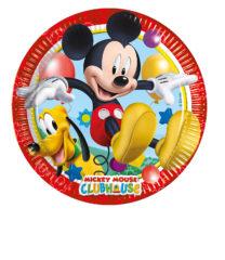 Playful Mickey - Paper Plates Medium 20 cm - 81840
