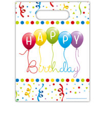 Happy Birthday Streamers - Party Bags - 81846