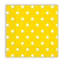 Napkins & Dots - Three-ply Paper Napkins 33x33 cm - 83208