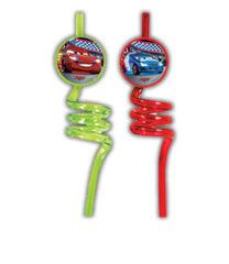 Cars 3 - Crazy Straws - 84079