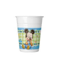 Baby Mickey - Plastic Cups 200ml - 84346