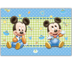Baby Mickey - Plastic Tablecover 120x180cm - 84348