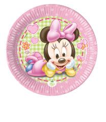 Baby Minnie - Paper Plate Medium 20cm - 84350