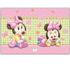 Baby Minnie - Plastic Tablecover 120x180cm - 84353