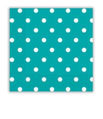 Napkins & Dots - Three-ply Paper Napkins 33x33 cm - 84943