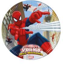 Ultimate Spider-Man Web Warriors - Paper Plates Large 23cm - 85151