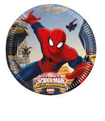 Ultimate Spider-Man Web Warriors - Paper Plates Medium 20 cm - 85152