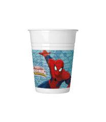 Ultimate Spider-Man Web Warriors - Plastic Cups 200 ml - 85153