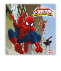Ultimate Spider-Man Web Warriors - Two-ply Paper Napkins 33x33 cm - 85154