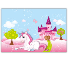 Unicorn - Plastic Tablecover 120x180cm - 85674