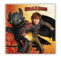Dragons - Two-ply Paper Napkins 33x33 cm - 85887