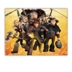 Dragons - Plastic Tablecover 120x180cm - 85888