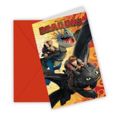 Dragons - Invitations & Envelopes - 85889