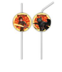 Dragons - Medallion Flexi Drinking Straws - 85894