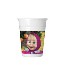 Masha And The Bear - Plastic Cups 200 ml. - 93480