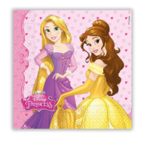 Princess Dreaming - Two-ply Paper Napkins 33x33 cm - 86679