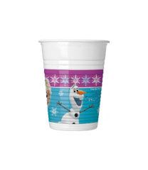 Frozen Northern Lights - Plastic Cups 200ml - 86756