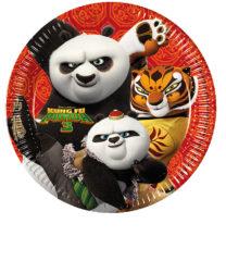 Kung Fu Panda 3 - Paper Plates Large 23cm - 86766