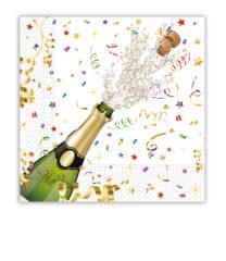 Sparkling Celebration - Three-ply Paper Napkins 33x33 cm - 86849