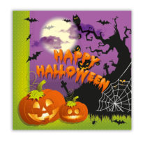 Happy Spooky Halloween - Two-ply Paper Napkins 33x33 cm - 86855