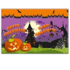 Happy Spooky Halloween - Plastic Tablecover 120x180cm - 86857