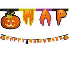 """Happy Spooky Halloween - """"Happy Halloween"""" Die-cut Banner - 86860"""