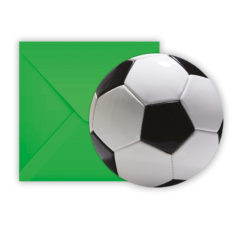 Football Party - Die-cut Invitations & Envelopes - 86873