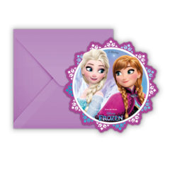 Frozen Northern Lights - Die-cut Invitations & Envelopes - 86919