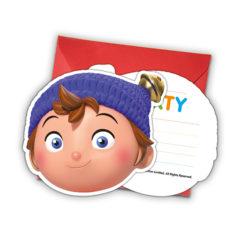 Noddy - Die-cut Invitations & Envelopes - 87010