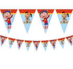 Noddy - Triangle Flag Banner (9 Flags) - 87013