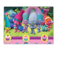 Trolls - Plastic Tablecover 120x180cm - 87017
