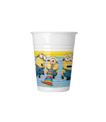 Lovely Minions - Plastic Cups 200ml - 87177