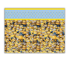 Lovely Minions - Plastic Tablecover 120x180cm - 87179