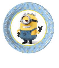 Lovely Minions - Paper Plates Medium 20cm - 87568