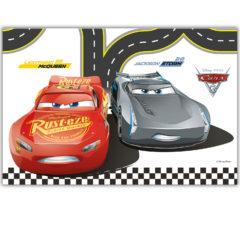 Cars 3 - Plastic Tablecover 120x180cm - 87800