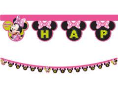 "Minnie Happy Helpers - ""Happy Birthday"" Die-cut Banner - 87869"