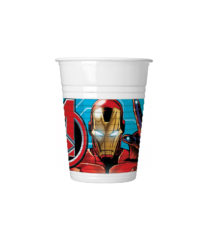 Mighty Avengers - Plastic Cups 200 ml - 87964