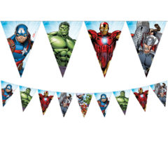 Mighty Avengers - Triangle Flag Banner (9 Flags) - 87971