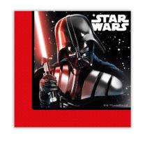 Star Wars Final Battle - Two-ply Paper Napkins 33x33 cm - 88139