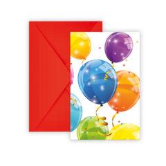 Sparkling Balloons - Invitations & Envelopes - 88153