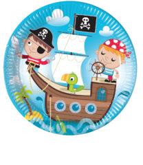 Pirates Treasure Hunt - Paper Plates 23 cm - 88250