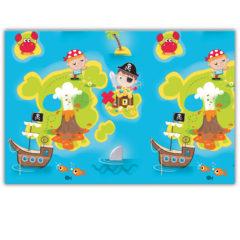 Pirates Treasure Hunt - Plastic Tablecover 120x180cm - 88253