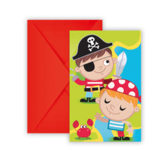 Pirates Treasure Hunt - Invitations & Envelopes - 88255