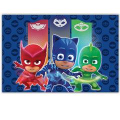 Pj Masks - Plastic Tablecover 120x180cm - 88634
